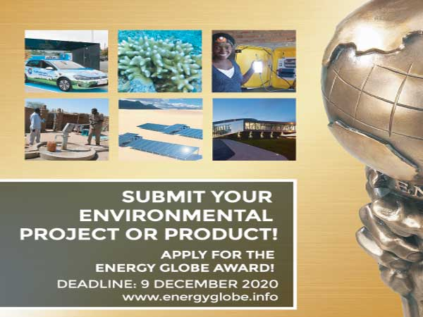 2021 Energy Globe Award Call for Project Submission
